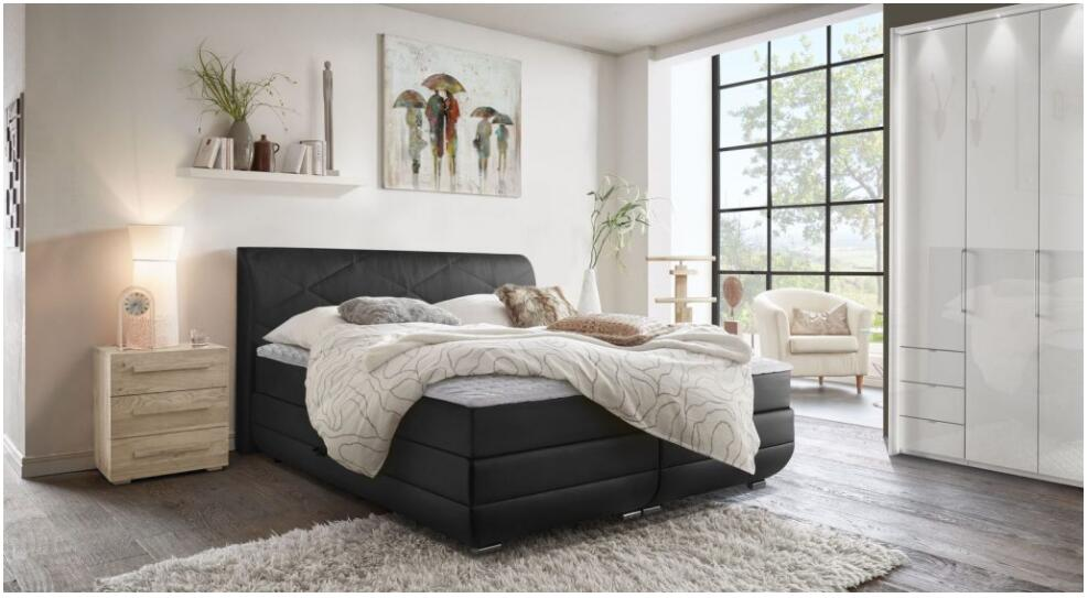 Cozy and relaxed - this is how the lifestyle comes into the bedroom